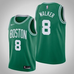 Männer Boston Celtics Kemba Walker & 8 Green Icon Jersey