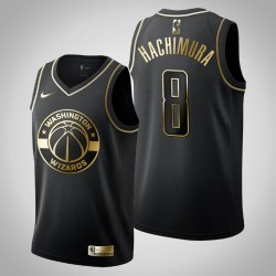 Washington Wizards Rui Hachimura & 8 Black Golden Edition Jersey