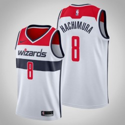 Männer Washington Wizards Rui Hachimura & 8 White Swingman 2019-20 Jersey - Verband Ausgabe