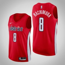 Männer Washington Wizards Rui Hachimura & 8 Red Swingman 2019-20 Jersey - verdient Ausgabe