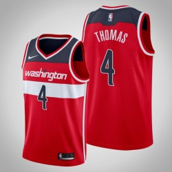Männer Washington Wizards Isaiah Thomas & 4 Red Icon Jersey