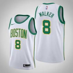 Jugend Kemba Walker Boston Celtics & 8 Stadt Weiß Jersey