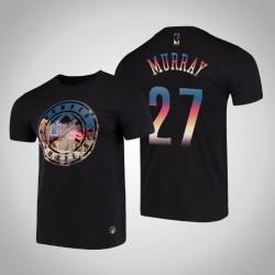 Denver Nuggets Jamal Murray & 27 Black City Landmark Kurzarm T-Shirt