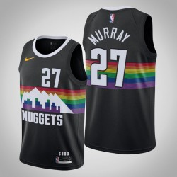2019-20 Nuggets Jamal Murray & 27 Black City Jersey