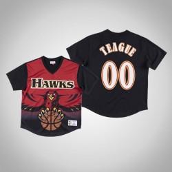 Atlanta Hawks Jeff Teague & 00 Red Spiel gewinnen Schuss T-Shirt