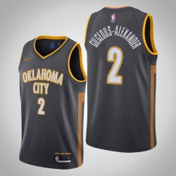 2019-20 Donner Shai Gilgeous-Alexander & 2 Charcoal City Jersey