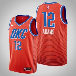 Männer Oklahoma City Thunder Steven Adams # 12 orange Swingman 2019-20 Trikot - Statement Ausgabe