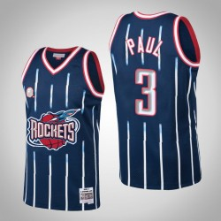 Houston Rockets Chris Paul # 3 2002-3 Holz Classics Swingman Trikot - Navy