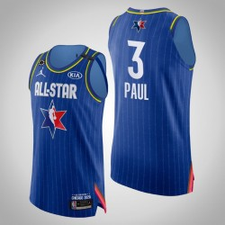 Donner Chris Paul # 3 2020 NBA All-Star Game Authentic Blau Trikot