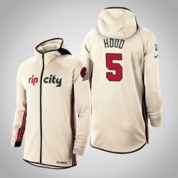 Herren Blazer Rodney Hood & 5 verdient Creme 2020 Saison Showtime Hoodie