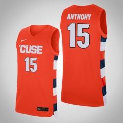 Herren Carmelo Anthony NCAA Syracuse Orange u 15 orange Replica College Basketball Nike Jersey