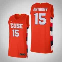 NCAA Carmelo Anthony Syracuse Orange u 15 orange Alumni Begrenzte Basketball Jersey