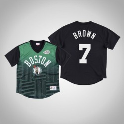 Boston Celtics Jaylen Brown & 7 Green Spiel gewinnen Schuss T-Shirt
