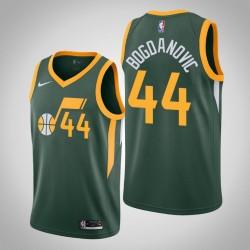 Männer Utah Jazz Bojan Bogdanovic und 44 Grün Swingman Jersey - verdient