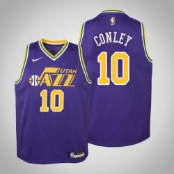 Jugend Mike Conley Utah Jazz & 10 Laubholz Classics Lila Jersey