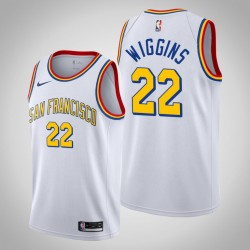 2019-20 Krieger Andrew Wiggins & 22 White Classic Jersey