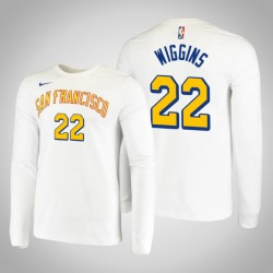 Krieger Andrew Wiggins & 22 San Francisco Klassische Leistung T-Shirt Weiß