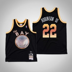 Andrew Wiggins & 22 Black E-40 x Golden State Warriors Swingman Mitchell Ness Limited Jersey