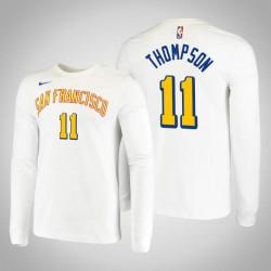 Krieger Klay Thompson & 11 San Francisco Klassische Leistung T-Shirt Weiß