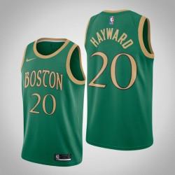 2019-20 Celtics Gordon Hayward & 20 Kelly Green City Jersey
