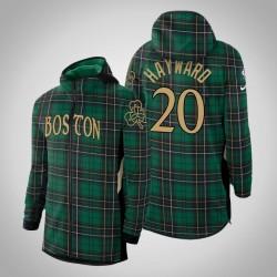 Männer Celtics Gordon Hayward & 20 verdient Kelly-Grün 2020 Saison Showtime Hoodie
