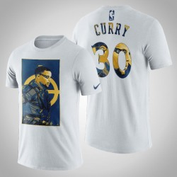 Golden State Warriors Stephen Curry # 30 Comic Deadshot DC-T-Shirt - Weiß