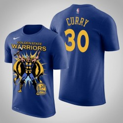 Männer Stephen Curry Golden State Warriors und 30 Königs Marvel Thor for Asgard T-Shirt
