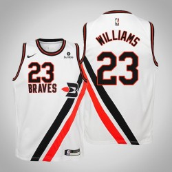 Jugend Clippers 2019-20 Lou Williams # 23 Weiß Throwback Trikot