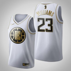 Los Angeles Clippers Lou Williams & 23 Golden Edition Weiß Jersey