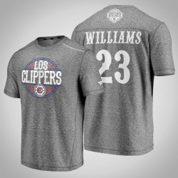 Clippers Lou Williams # 23 Latino Heritage Nacht Clutch Schießen melierter-Grau-T-Shirt