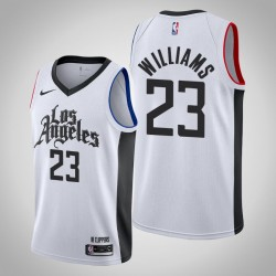 2019-20 Clippers Lou Williams & 23 White City Jersey