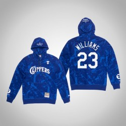Clippers Lou Williams & 23 AAPE x Mitchell Ness Camo PulloverHoodie Königs