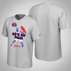 Clippers Kawhi Leonard & 2 NBA Jam-Grau-T-Shirt