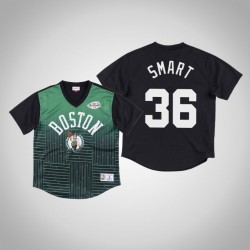Boston Celtics Marcus Smart & 36 Green Spiel gewinnen Schuss T-Shirt