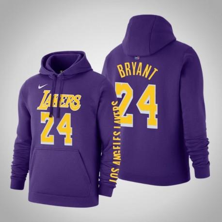 Los Angeles Lakers und Kobe Bryant 24 Statement Lila 2020 ...