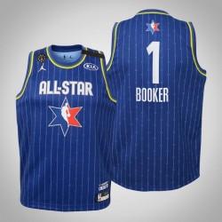 Jugend Phoenix Suns Devin Booker & 1 Blue 2020 NBA All-Star Game Jersey