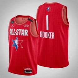 Phoenix Suns Devin Booker & 1 2020 NBA All-Star Game Reserves Red Jersey