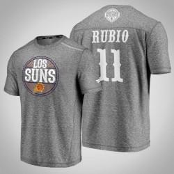 Sonnen Ricky Rubio & 11 Latino Heritage Nacht Clutch Schießen melierter-Grau-T-Shirt