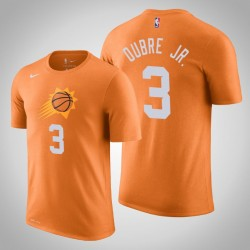 Phoenix Suns & 3 Kelly Oubre Jr. Statement orange 2020 Saison Name & Nummer T-Shirt