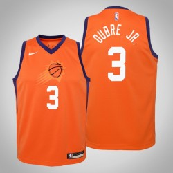 Jugend Kelly Oubre Jr. Phoenix Suns & 3 Statement orange 2020 Saison Jersey