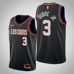 2019-20 Sonnen Kelly Oubre Jr. & 3 Black City Jersey