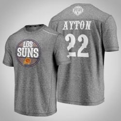 Sonnen Deandre Ayton & 22 Latino Heritage Nacht Clutch Schießen melierte Grau-T-Shirt