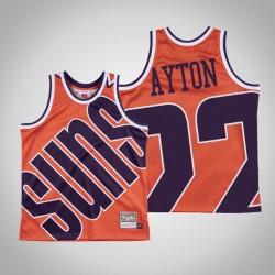 Herren Sonnen Deandre Ayton & 22 Orange großes Gesicht Hartholz Classics Jersey