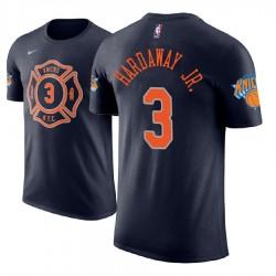 Männer Tim Hardaway Jr. New York Knicks # 3 Stadt Marine Name # Nummer Spieler T-Shirt
