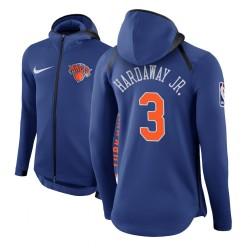 Männer Tim Hardaway Jr. New York Knicks # 3 Blau Therma Flex Showtime Hoodie