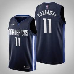 2019-20 Mavericks Tim Hardaway Jr. # 11 Navy Trikot - Erklärung