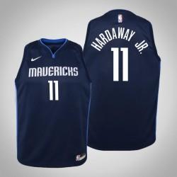 Jugend Tim Hardaway Jr. Dallas Mavericks und 11 Statement Navy 2020 Saison Trikot