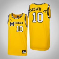 Tim Hardaway Jr. Männer NCAA Michigan Wolverines # 10 Mai 1989 Throwback Basketball Performance-Trikot