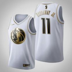 Dallas Mavericks Tim Hardaway Jr. # 11 Golden Edition Weiß Trikot