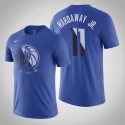 Mavericks Tim Hardaway Jr. & 11-Team-Logo Wesentliche Dry Blue T-Shirt